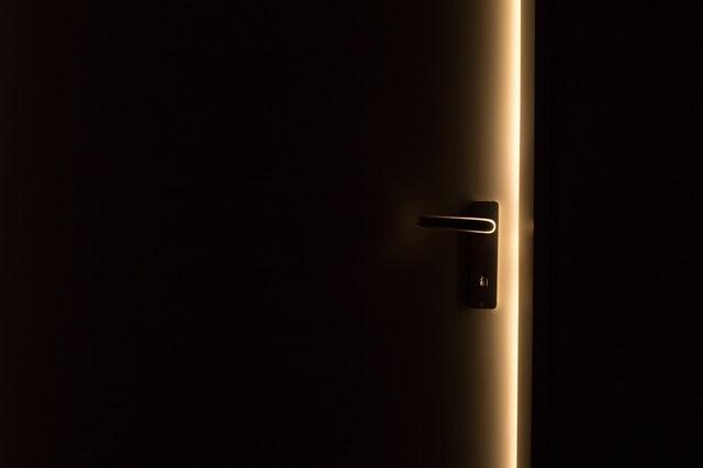 The door creaked again, last night