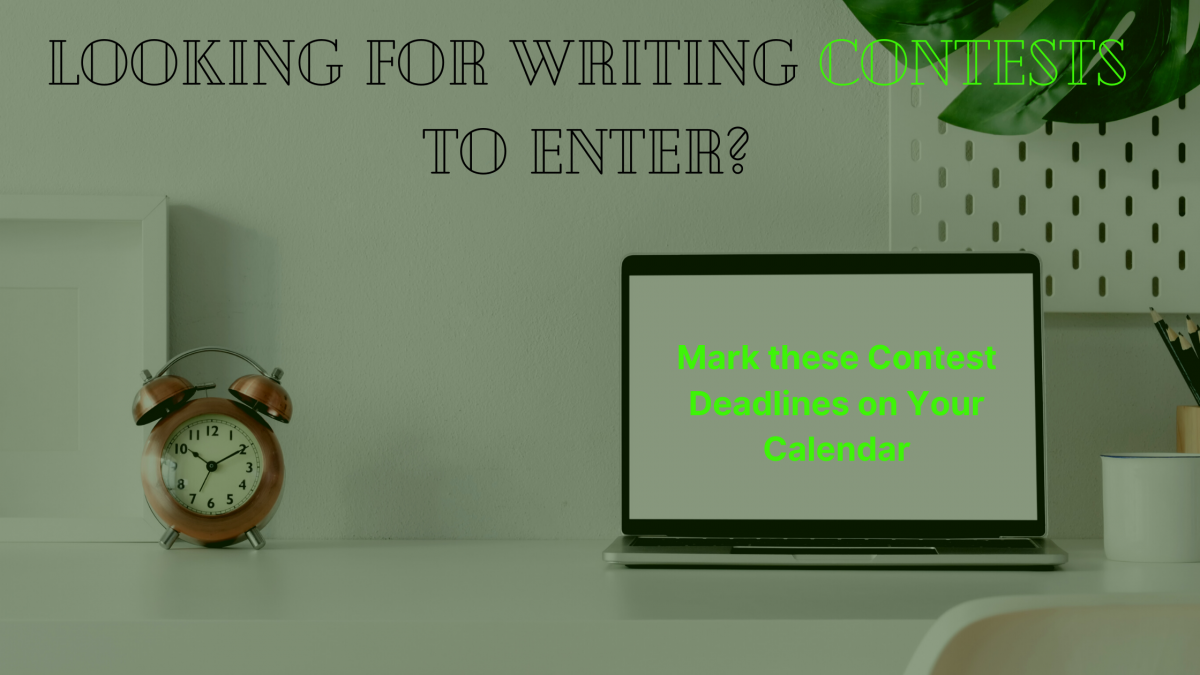 Writing Contest Deadlines to Beat this August