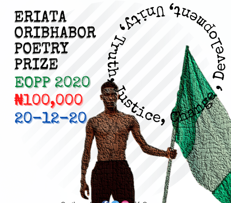 Enter the Eriata Oribhabor Poetry Prize, 2020