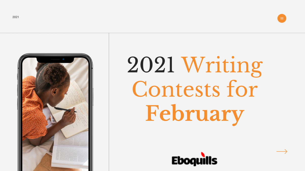 7 Writing Contests to Enter in February 2021