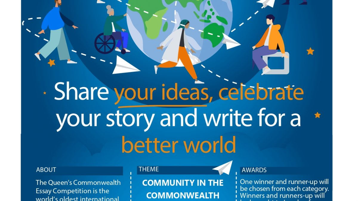 Enter The Queen's Commonwealth Essay Competition 2021